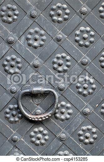 steel door handle - csp4153285