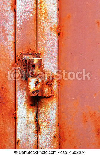 Steel door hinges. - csp14582874