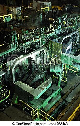 Steel mill - csp1768463
