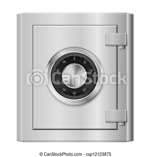Steel safe - csp12123875