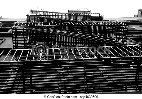 steel stairs - csp4639809