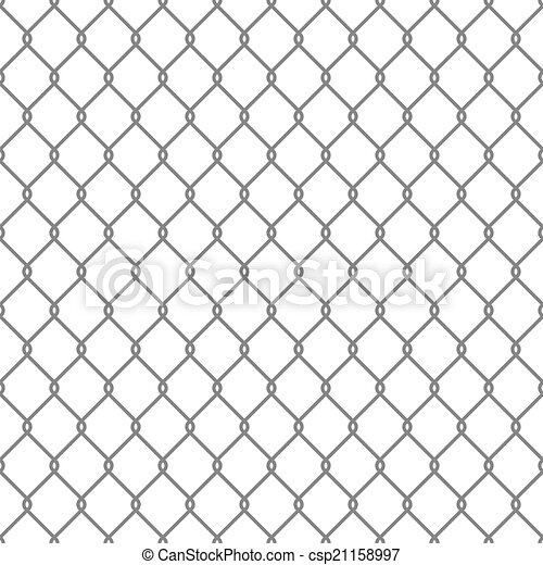 Steel Wire Mesh Seamless Background. Vector - csp21158997