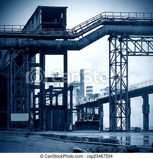 Steelworks - csp23467504