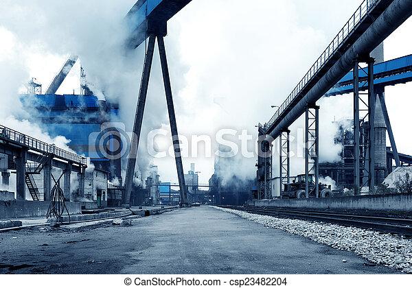 Steelworks - csp23482204