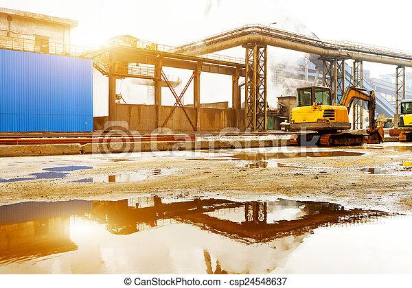 Steelworks - csp24548637