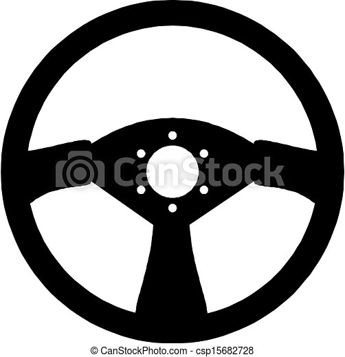 steering wheel vector illustration https www canstockphoto com steering wheel 15682728 html