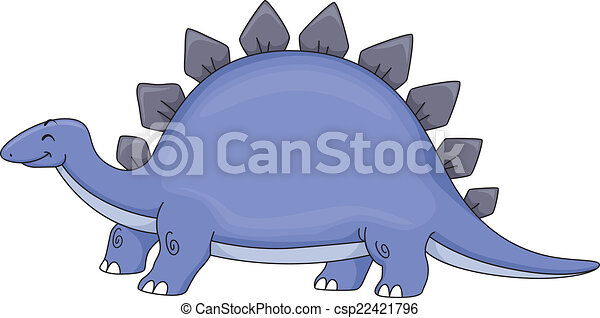 Stegosaurus - csp22421796