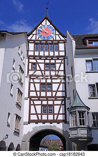 Stein am Rhein, Switzerland - csp18182643