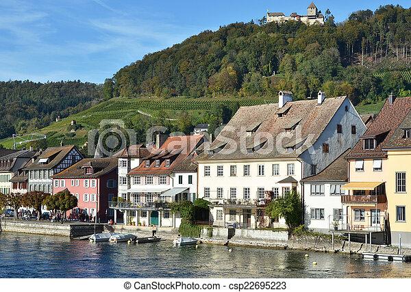 Stein am Rhein, Switzerland - csp22695223
