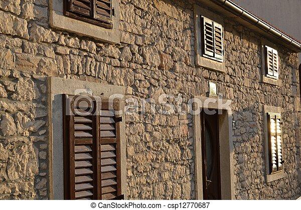 Exceptional Stein Haus   Csp12770687