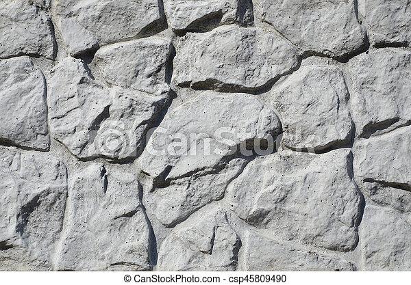 Stein Mogen Zaun Wand Beschaffenheit Beton Erleichterung
