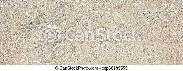 stein, natürlich, farbe, beiger hintergrund, banner, marmor, beschaffenheit - csp68183555