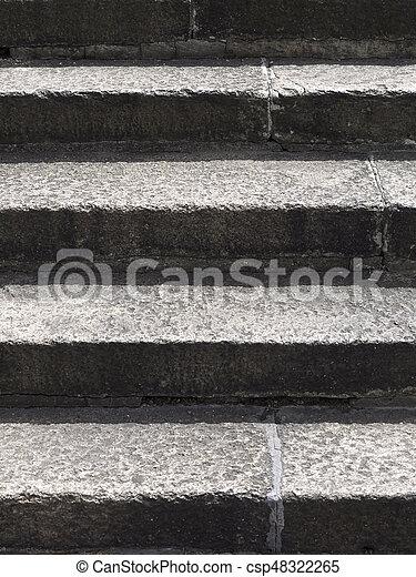 stein, schritte - csp48322265