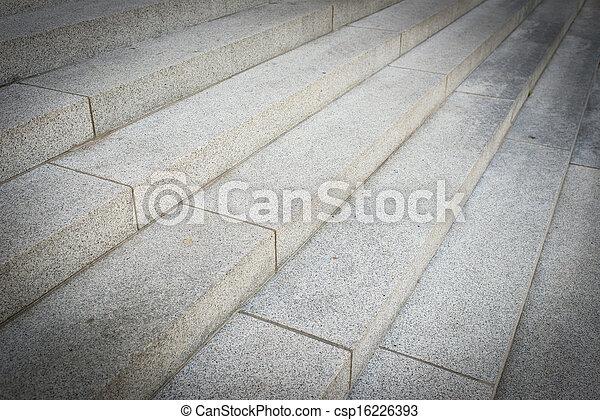 stein, schritte - csp16226393