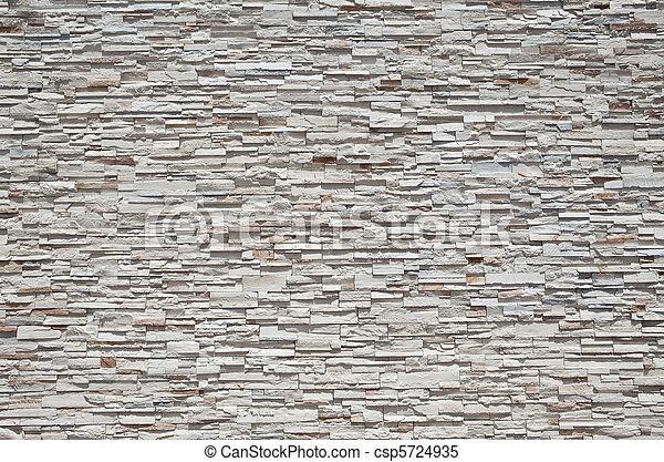stein, voll, gestapelt, wand rahmen, sandstein, dicht, platten - csp5724935
