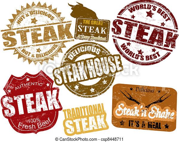 stek, pieczęcie - csp8448711