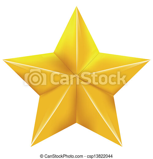 stella, oro - csp13822044