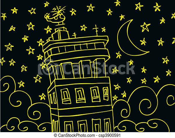 stellato, notte - csp3900591