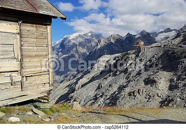 Stelvio Pass Tibet-Hut 03 - csp5264112