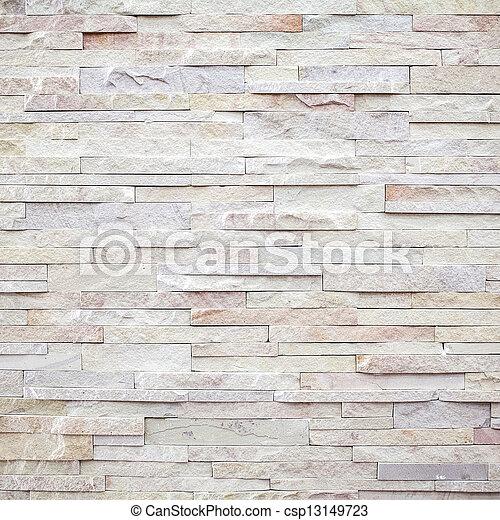 stena väggen, nymodig, struktur, återuppstå, vita tegelsten - csp13149723