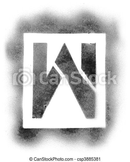 Stencil letters in spray paint stencil letters in spray paint csp3885381 spiritdancerdesigns Images