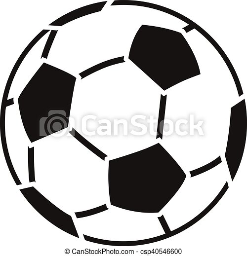 stencil of soccer ball second variant vector clipart search rh canstockphoto com soccer ball vector art free free soccer ball vector art