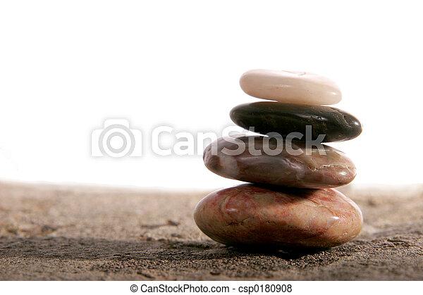 stenen, zen - csp0180908