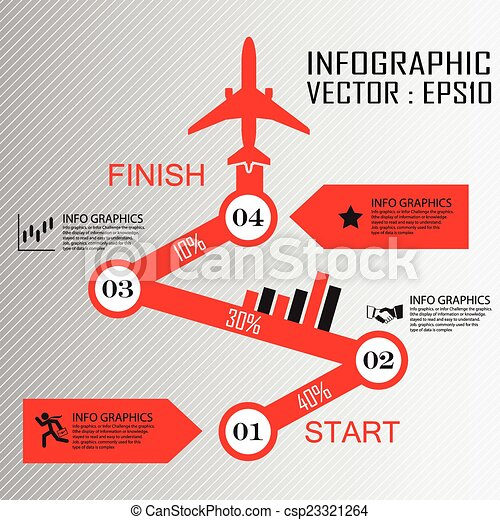 Step by Step infographics - csp23321264