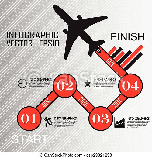 Step by Step infographics - csp23321238