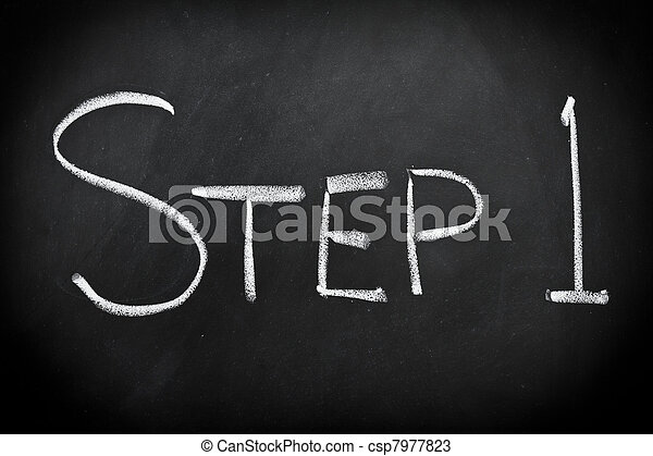 Step one - csp7977823