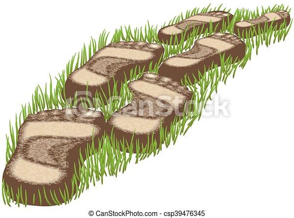 stepping stones - csp39476345
