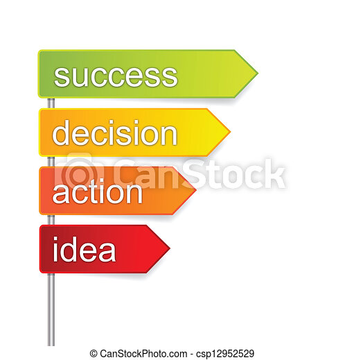 steps for success - csp12952529