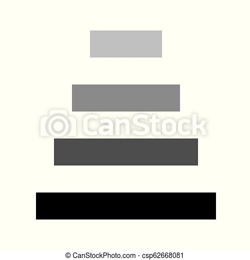Steps icon isolated on white background for your design, next steps icon concept - csp62668081