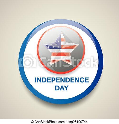 ster, nationale, kleuren, vlag, dag, onafhankelijkheid - csp28100744