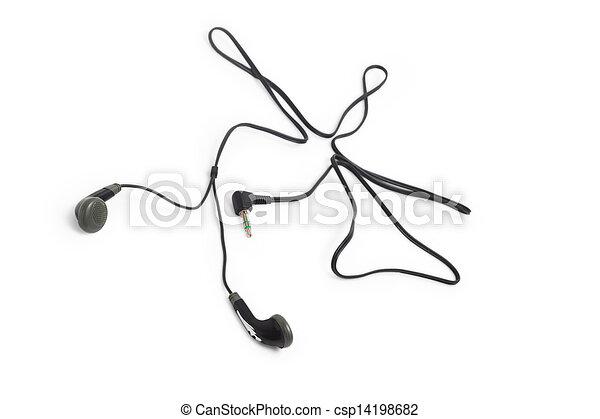 Stereo, draht, kabel, telefone, kopfhörer, kopf,... Bilder ...