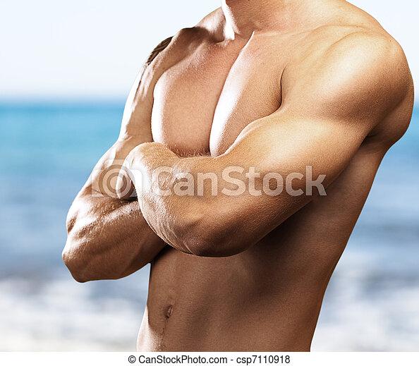 sterke, torso - csp7110918