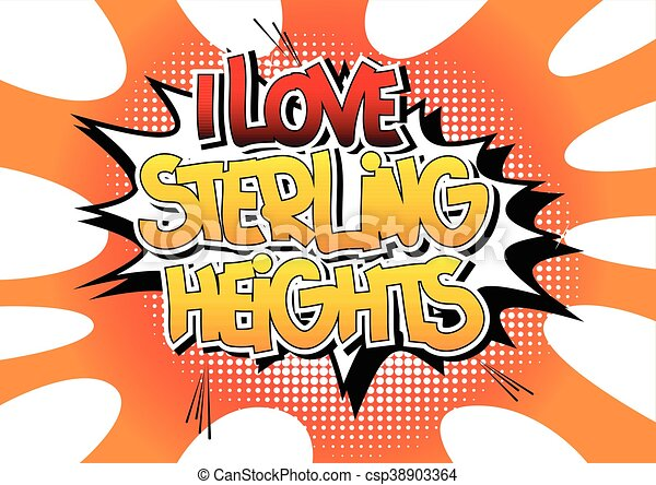 sterlina, amore, heights. - csp38903364