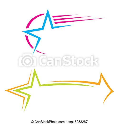 stern, heiligenbilder - csp16383287