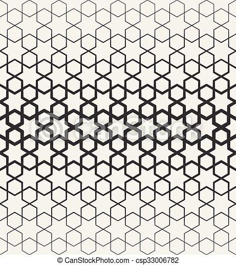 stern muster seamless halftone islamisch vektor schwarz geometrische linie - Stern Muster