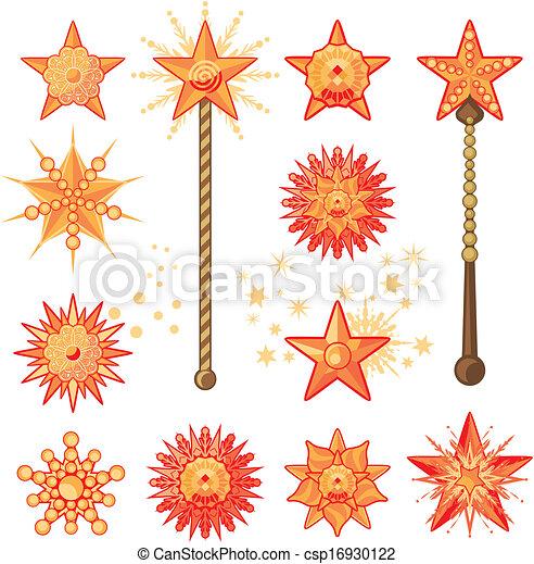Feste Sterne - csp16930122