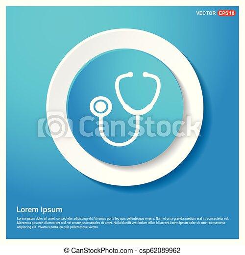 stethoscope Icon - csp62089962