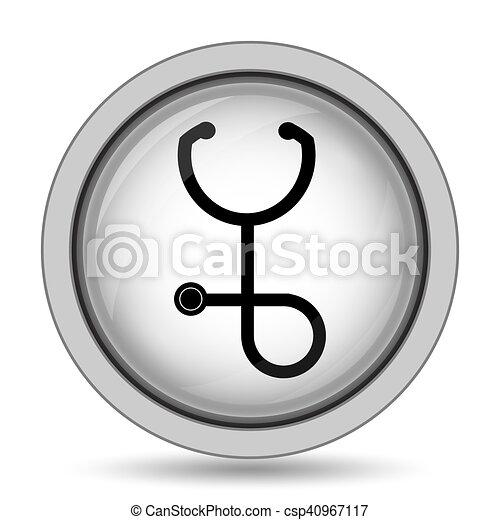 Stethoscope icon - csp40967117