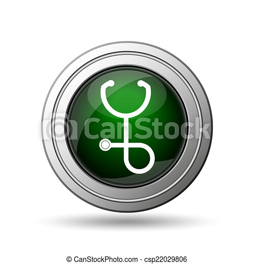 Stethoscope icon - csp22029806