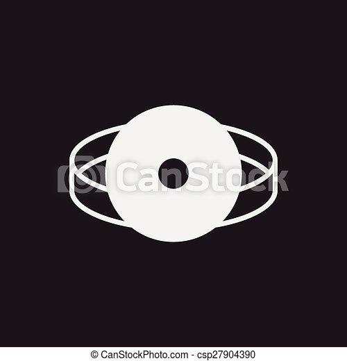 Stethoscope icon - csp27904390
