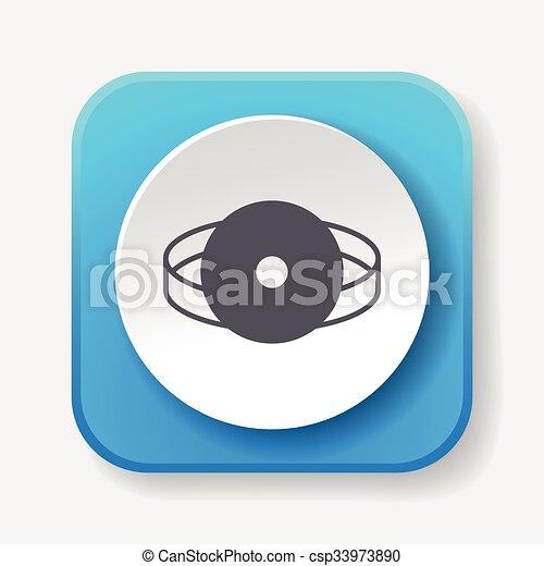 Stethoscope icon - csp33973890
