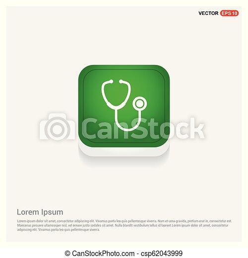 stethoscope Icon - csp62043999