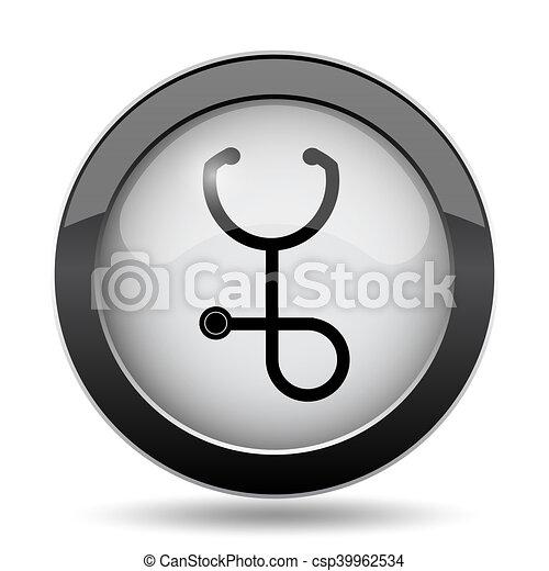 Stethoscope icon - csp39962534