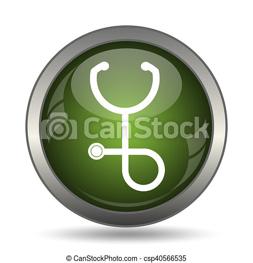 Stethoscope icon - csp40566535