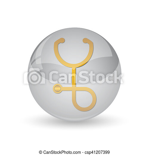 Stethoscope icon - csp41207399