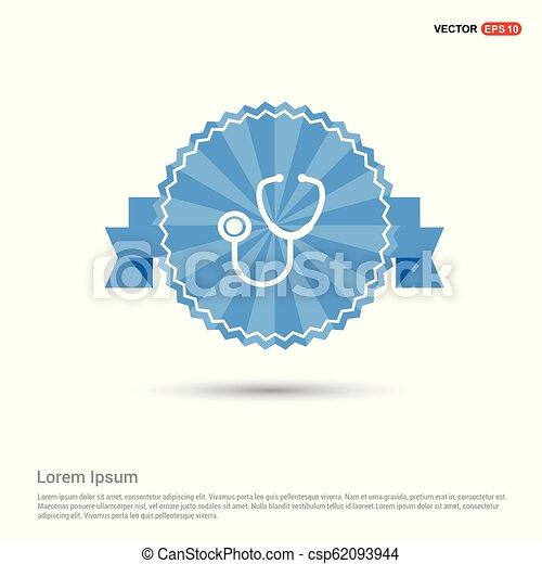 stethoscope Icon - csp62093944